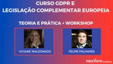 GDPR E LEGISLAÇÃO COMPLEMENTAR EUROPEIA (ao vivo)